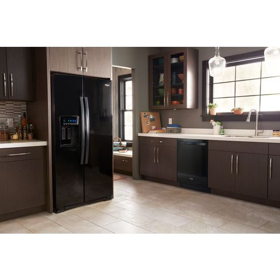 Model: WRS571CIHB | Whirlpool 36-inch Wide Counter Depth Side-by-Side Refrigerator - 21 cu. ft.