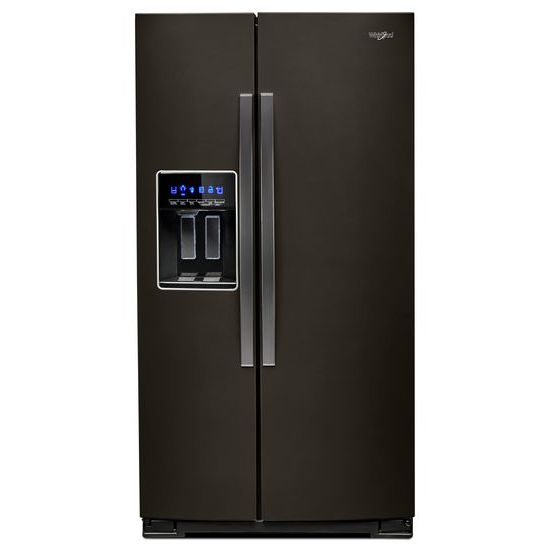 Model: WRS571CIHV | Whirlpool 36-inch Wide Counter Depth Side-by-Side Refrigerator - 21 cu. ft.