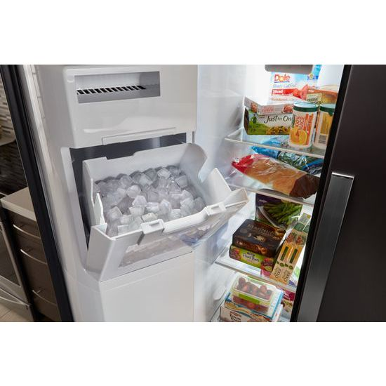 Model: WRS571CIHZ | Whirlpool 36-inch Wide Counter Depth Side-by-Side Refrigerator - 21 cu. ft.