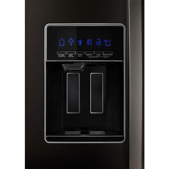 Model: WRS588FIHV | Whirlpool 36-inch Wide Side-by-Side Refrigerator - 28 cu. ft.
