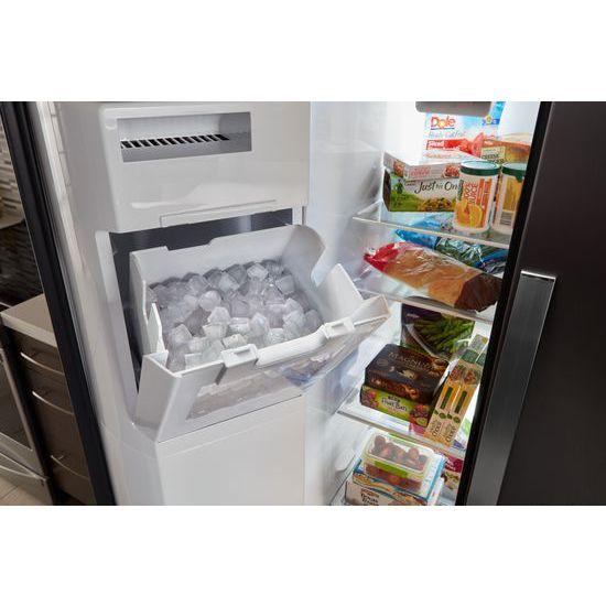 Model: WRS588FIHW | 36-inch Wide Side-by-Side Refrigerator - 28 cu. ft.