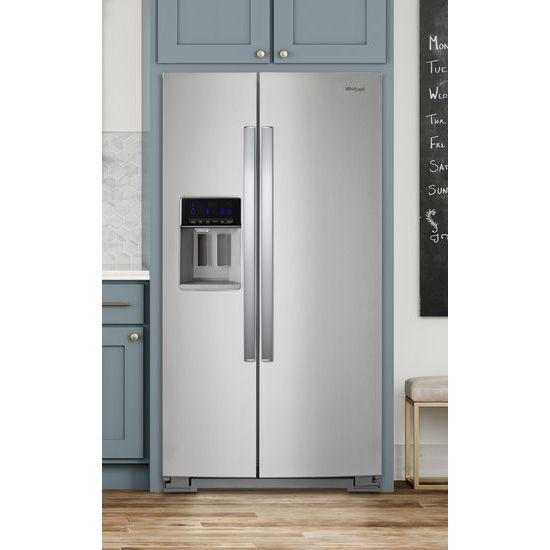 Model: WRS588FIHZ | 36-inch Wide Side-by-Side Refrigerator - 28 cu. ft.