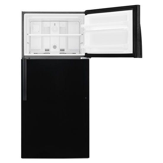 Model: WRT104TFDB | Whirlpool 28-inch Wide Top Freezer Refrigerator - 14 cu. ft.