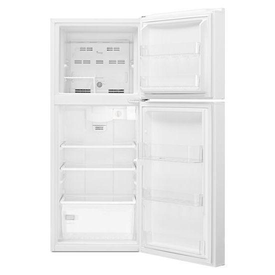 Model: WRT111SFDW | Whirlpool 25-inch Wide Top Freezer Refrigerator - 11 cu. ft.