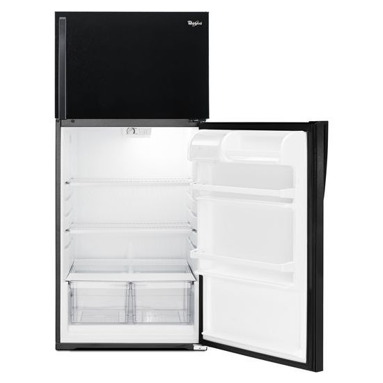 Model: WRT134TFDB | Whirlpool 28-inch Wide Top Freezer Refrigerator - 14 cu. ft.