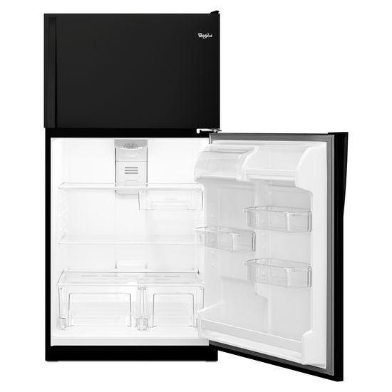 Model: WRT311FZDB | Whirlpool 33-inch Wide Top Freezer Refrigerator - 20 cu. ft.