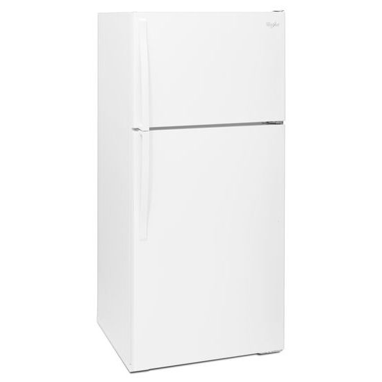 Model: WRT314TFDW | Whirlpool 28-inch Wide Top Freezer Refrigerator - 14 cu. ft.