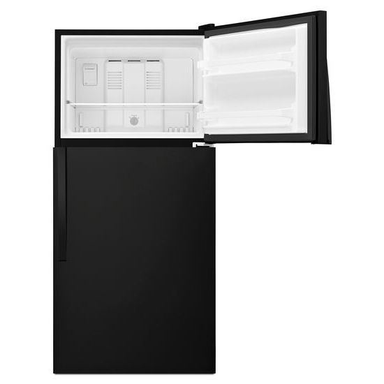 Model: WRT318FZDB | Whirlpool 30-inch Wide Top Freezer Refrigerator - 18 cu. ft.