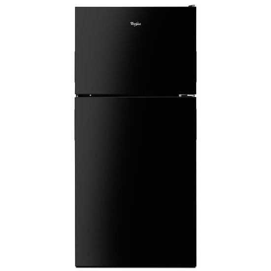 Model: WRT348FMEB | Whirlpool 30-inch Wide Top Freezer Refrigerator - 18 cu. ft.