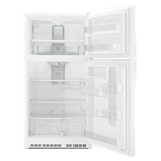 Model: WRT511SZDW | Whirlpool 33-inch Wide Top Freezer Refrigerator - 21 cu. ft.