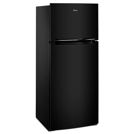 Model: WRT518SZFB | Whirlpool 28-inch Wide Refrigerator Compatible With The EZ Connect Icemaker Kit – 18 Cu. Ft.