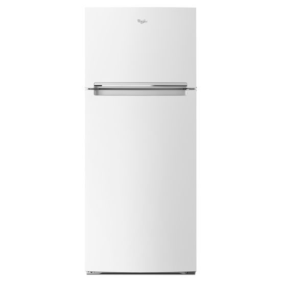 Model: WRT518SZFW | Whirlpool 28-inch Wide Refrigerator Compatible With The EZ Connect Icemaker Kit – 18 Cu. Ft.