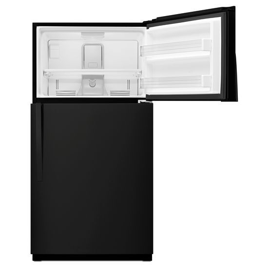 Model: WRT541SZDB | Whirlpool 33-inch Wide Top Freezer Refrigerator - 21 cu. ft.