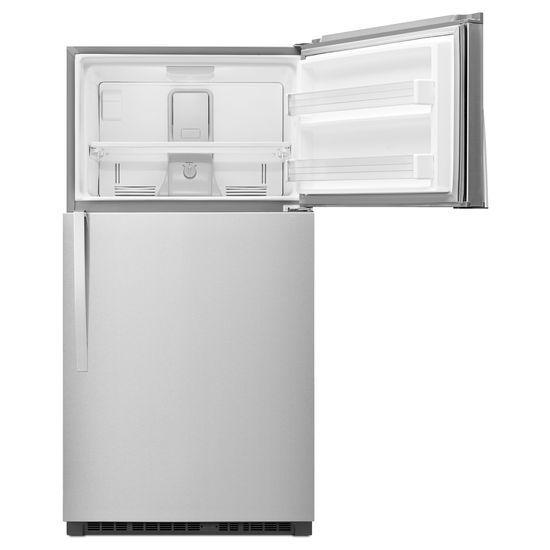 Model: WRT541SZDM | Whirlpool 33-inch Wide Top Freezer Refrigerator - 21 cu. ft.