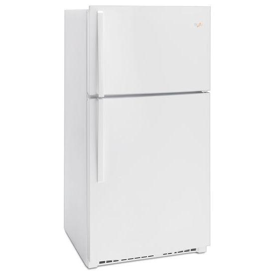 Model: WRT541SZDW | Whirlpool 33-inch Wide Top Freezer Refrigerator - 21 cu. ft.