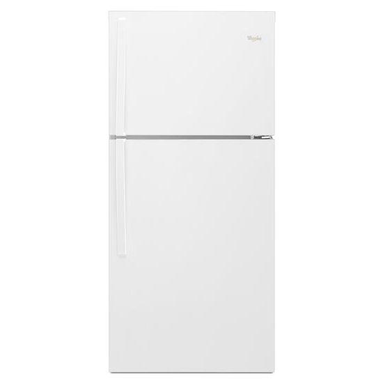 Model: WRT549SZDW   Whirlpool 30-inch Wide Top Freezer Refrigerator - 19 cu. ft.