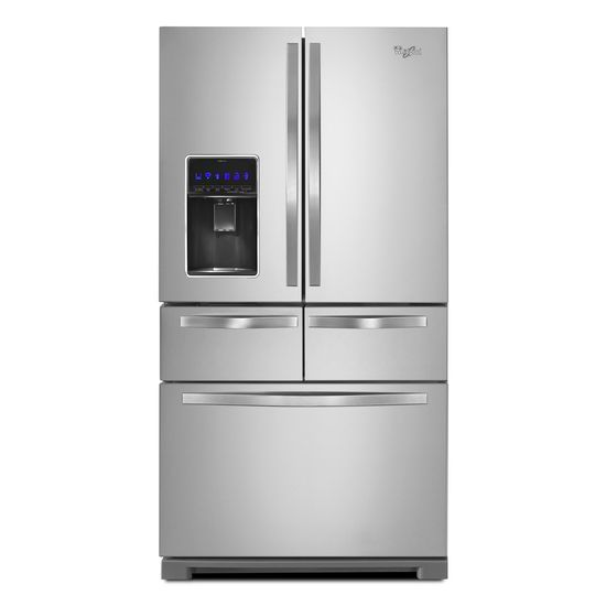 Model: WRV986FDEM | 26 cu. ft. Double Drawer Refrigerator with Dual Icemakers