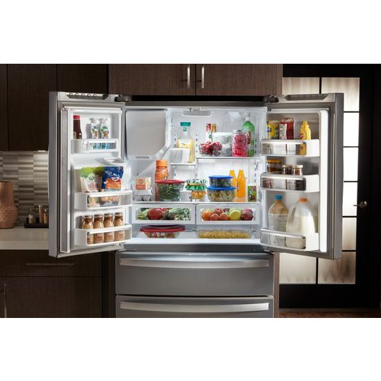 Model: WRX735SDHV | Whirlpool 36-Inch Wide French Door Refrigerator - 25 cu. ft.