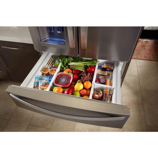 Model: WRX735SDHV | 36-Inch Wide French Door Refrigerator - 25 cu. ft.