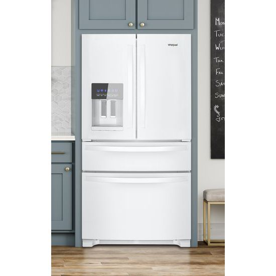 Model: WRX735SDHW | Whirlpool 36-Inch Wide French Door Refrigerator - 25 cu. ft.