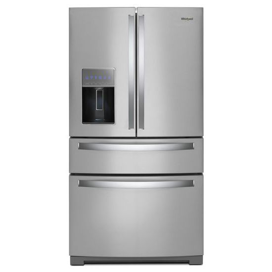 Whirlpool 36-inch Wide 4-Door Refrigerator with Exterior Drawer - 26 cu. ft.