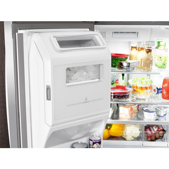 Model: WRX986SIHZ | 36-inch Wide 4-Door Refrigerator with Exterior Drawer - 26 cu. ft.