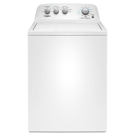 Model: WTW4855HW | 3.8 cu. ft. Top Load Washer with Soaking Cycles, 12 Cycles