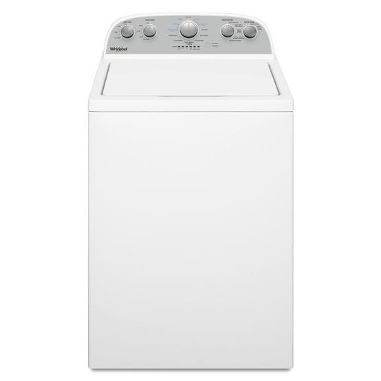 Model: WTW4955HW | Whirlpool 3.8 cu. ft. Top Load Washer with Soaking Cycles, 12 Cycles