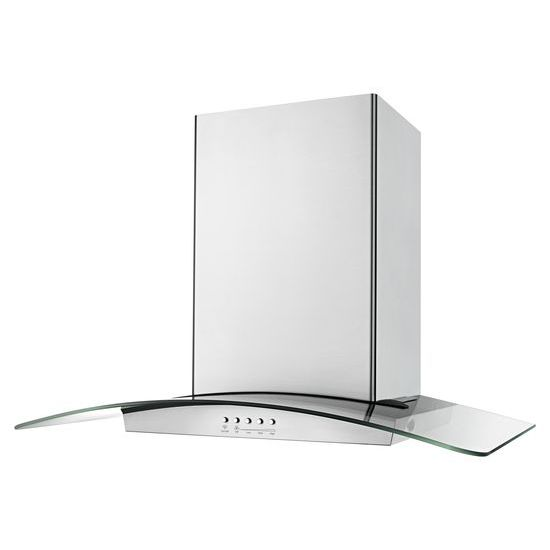 "Model: WVI75UC6DS | Unbranded 36"" Modern Glass Island Mount Range Hood"