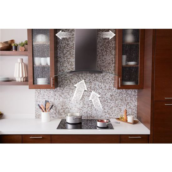 "Model: WVW51UC0HV | Unbranded 30"" Concave Glass Wall Mount Range Hood"