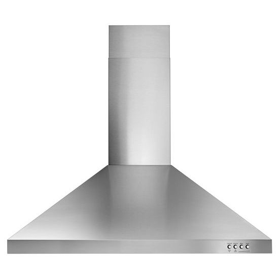 """Unbranded 30"""" Contemporary Stainless Steel Wall Mount Range Hood"""