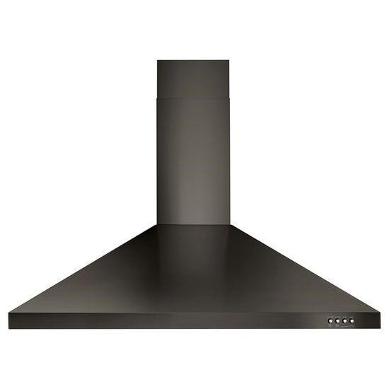 "Model: WVW53UC6HV | Unbranded 36"" Contemporary Black Stainless Wall Mount Range Hood"