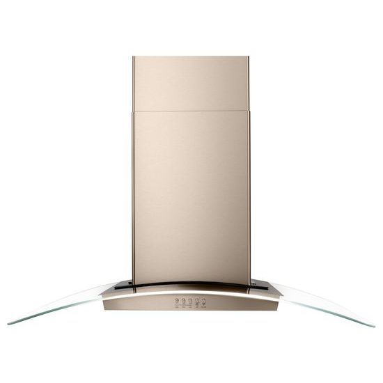"Model: WVWA5UC6HN | Unbranded 36"" Modern Glass Wall Mount Range Hood"