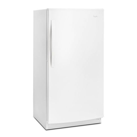 Model: WZF56R16DW | Whirlpool 16 cu. ft. Upright Freezer with Frost-Free Defrost