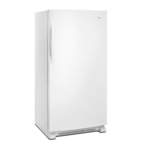Model: WZF79R20DW | Whirlpool 20 cu. ft. Upright Freezer with Temperature Alarm