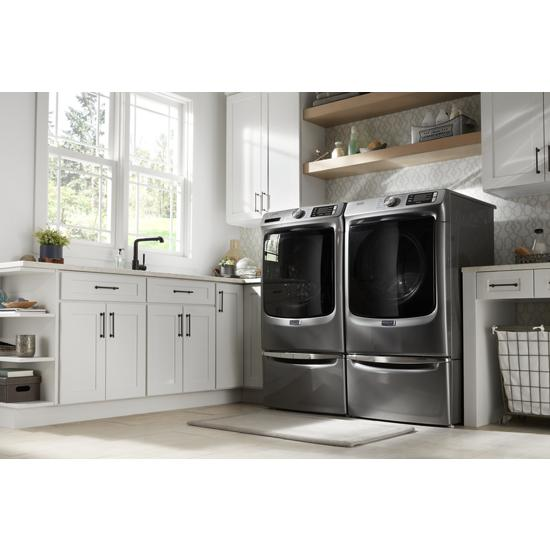 "Model: XHPC155YC | Maytag 15.5"" Pedestal for Front Load Washer and Dryer with Storage"