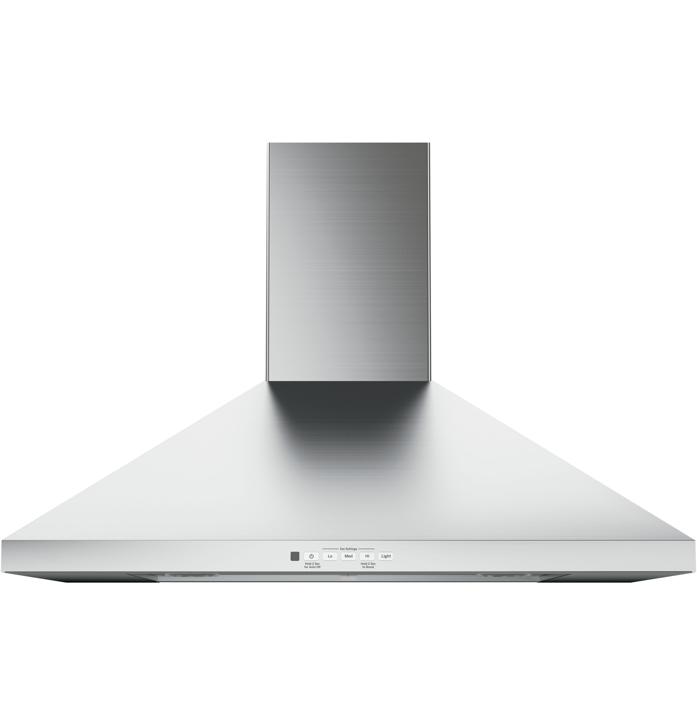 "GE GE® 30"" Wall-Mount Pyramid Chimney Hood"