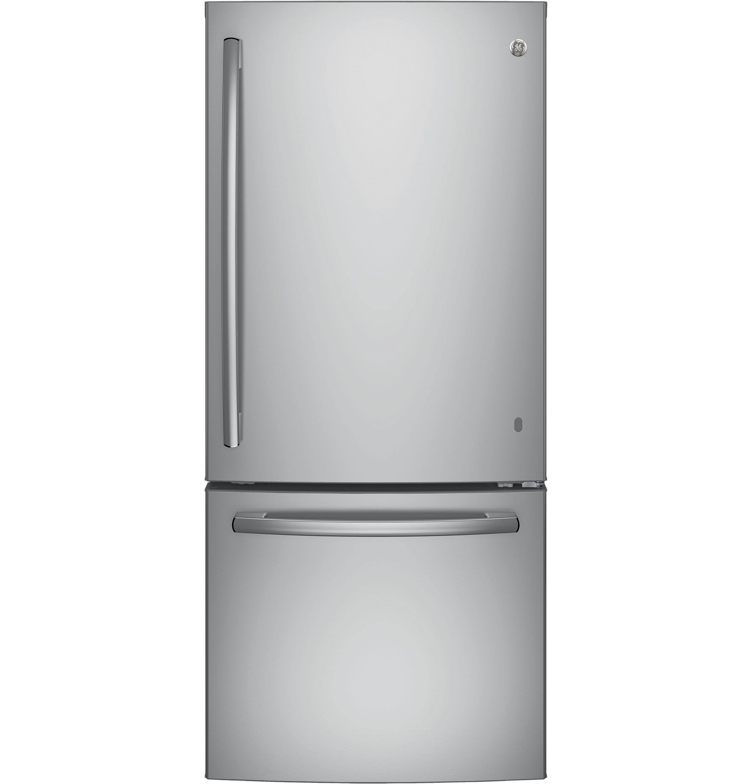 Model: GDE21ESKSS | GE GE® ENERGY STAR® 21.0 Cu. Ft. Bottom-Freezer Refrigerator