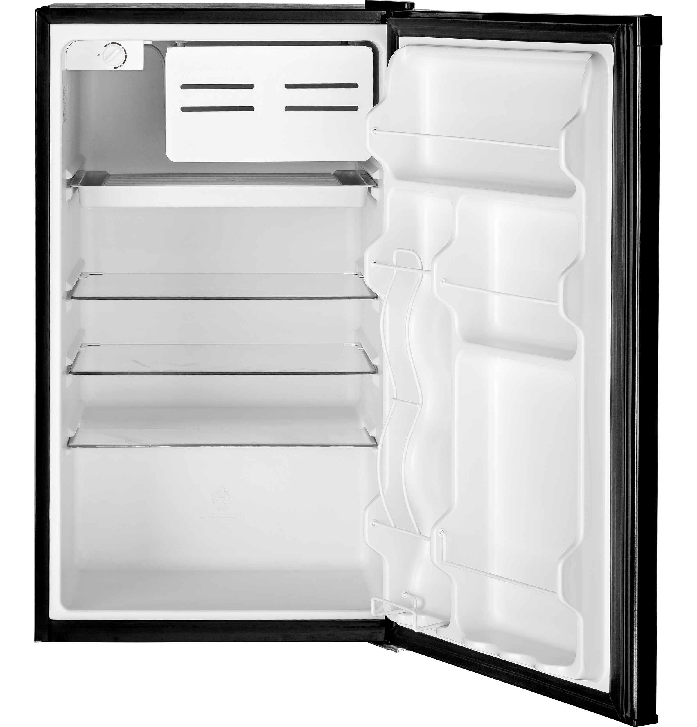 Model: GME04GGKBB | GE GE® Compact Refrigerator