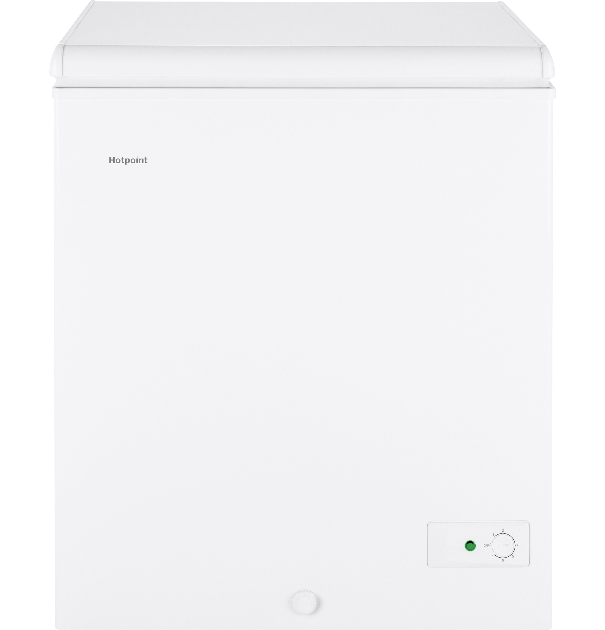 Hotpoint Hotpoint® 5.1 Cu. Ft. Manual Defrost Chest Freezer