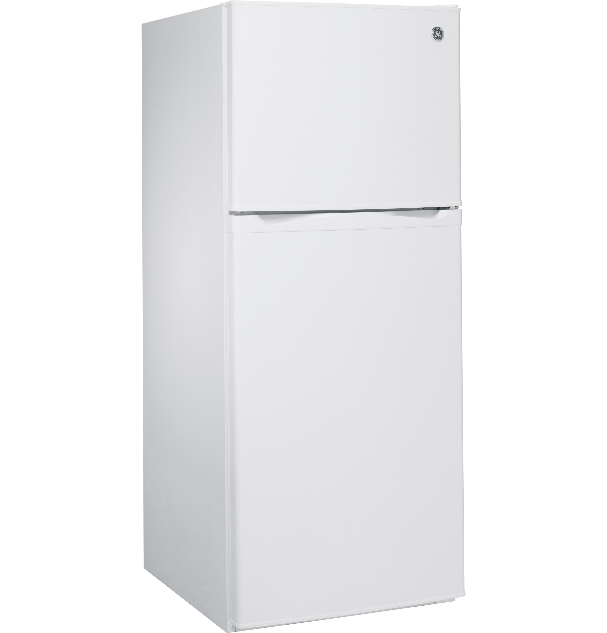 Model: GPE12FGKWW | GE GE® ENERGY STAR® 11.6 cu. ft. Top-Freezer Refrigerator