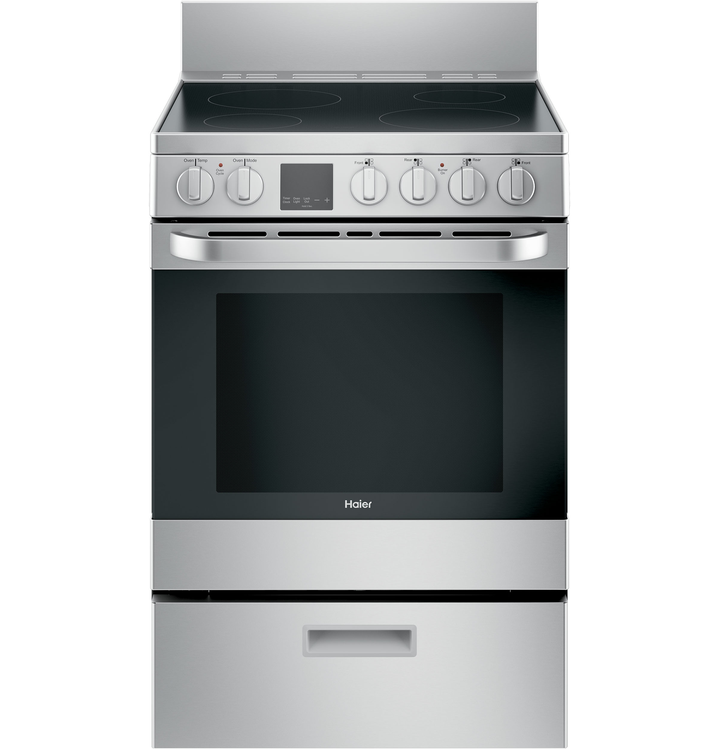 "Haier 24"" 2.9 Cu. Ft. Electric Range"