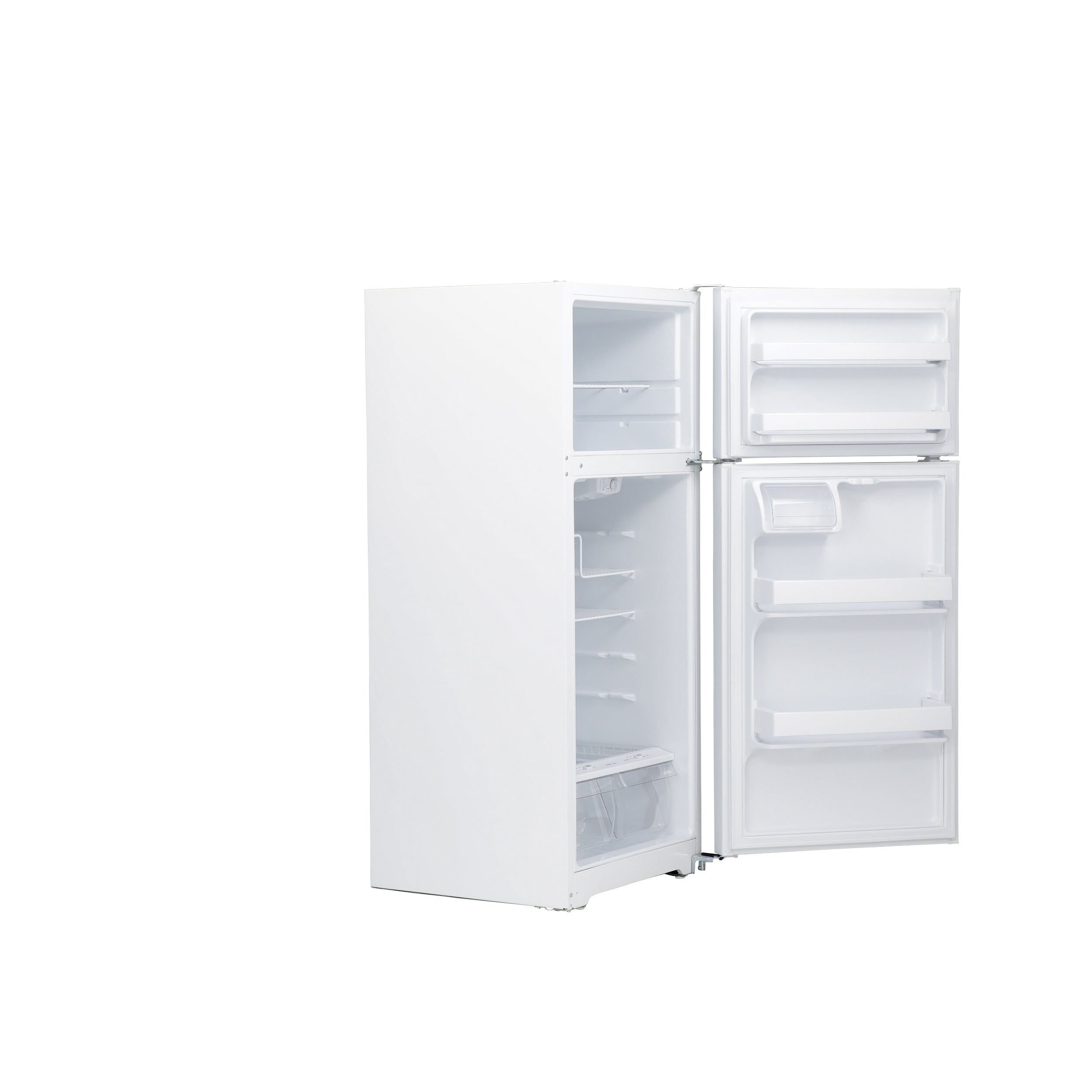 Model: GTE16DTHWW | GE GE® ENERGY STAR® 15.5 Cu. Ft. Top-Freezer Refrigerator