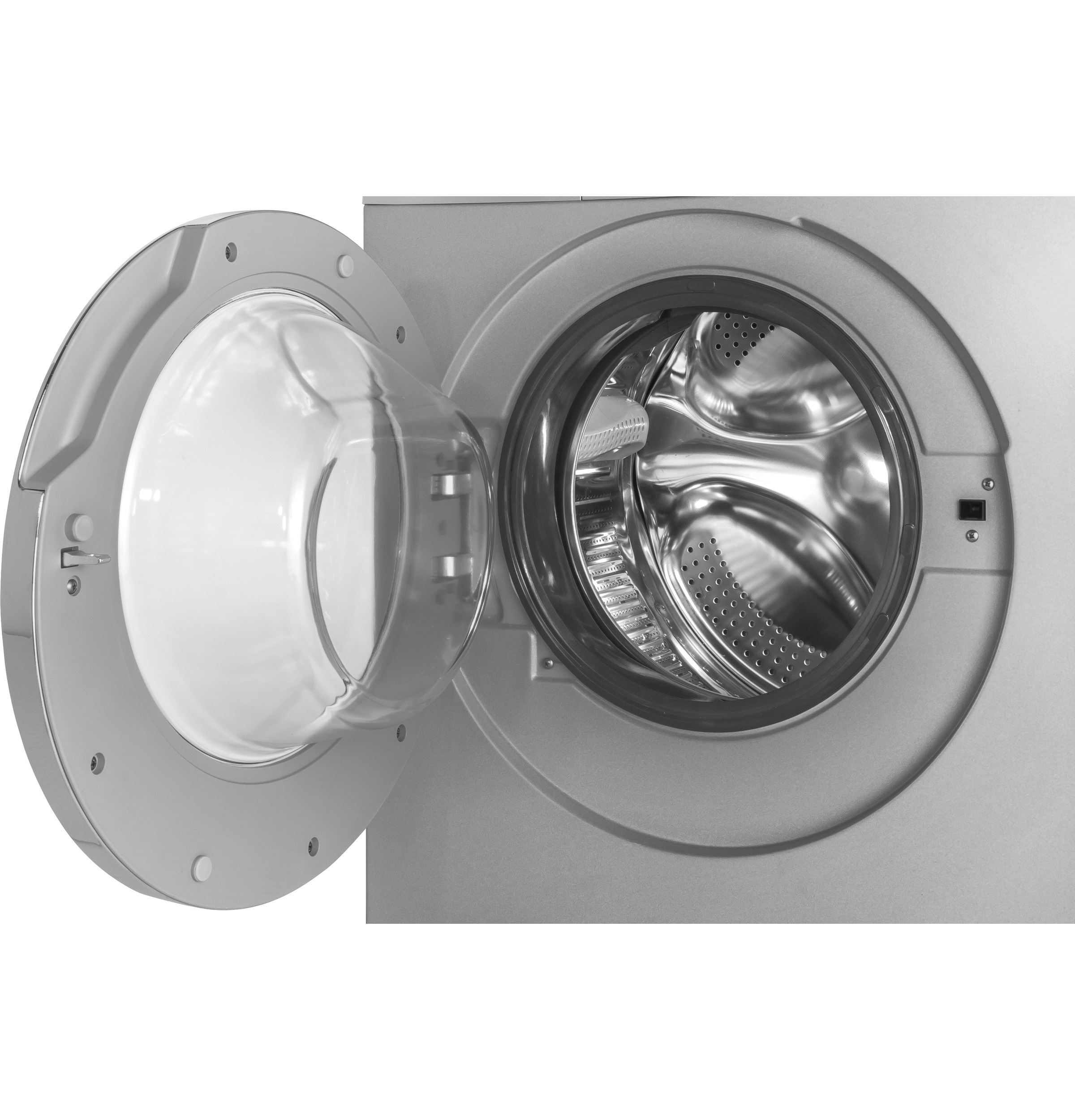 "Model: HLC1700AXS | Haier 24"" 2.0 cu. ft. Front Load Washer/Dryer Combo"