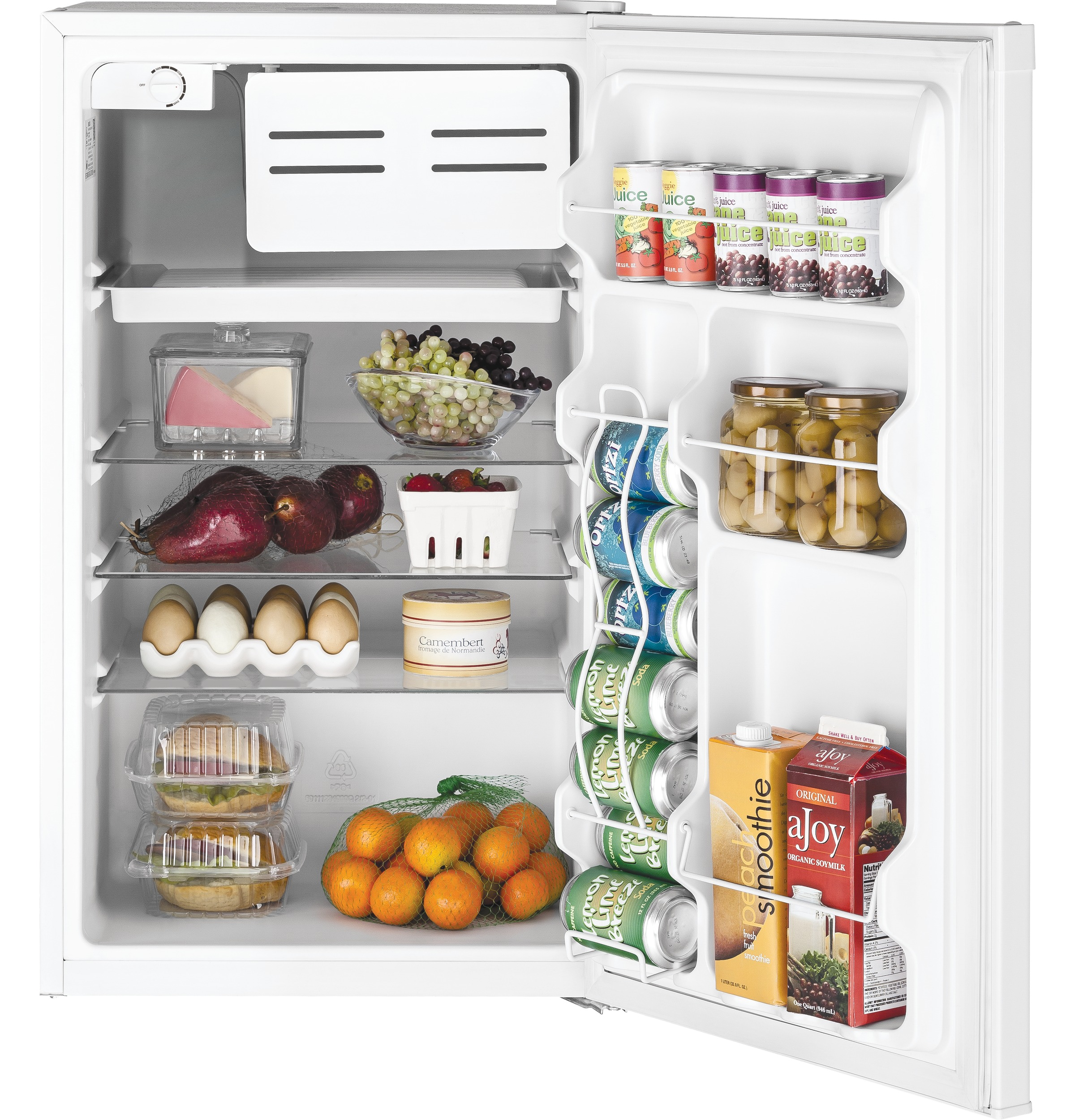 Model: GME04GGKWW | GE GE® Compact Refrigerator