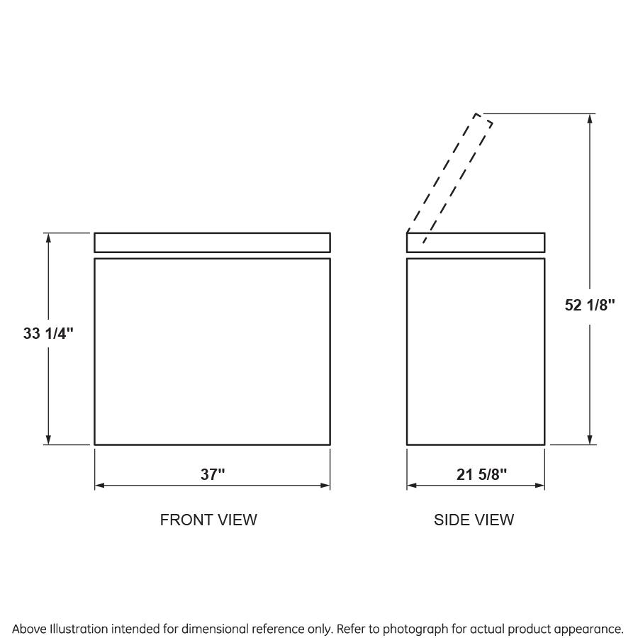 Model: HCM7SMWW | Hotpoint® 7.1 Cu. Ft. Manual Defrost Chest Freezer