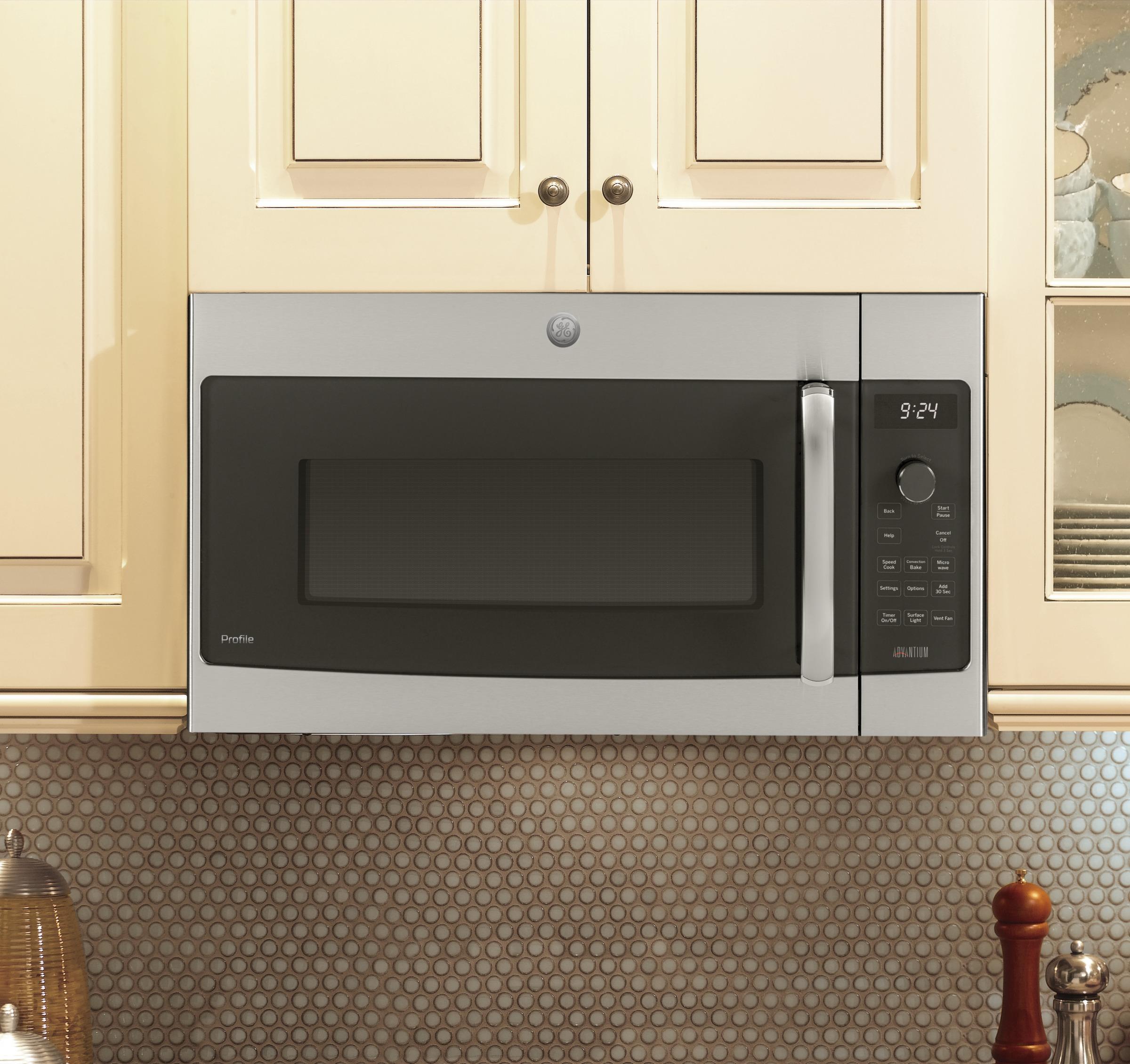 Model: PSA9240SFSS | GE Profile Series Over-the-Range Oven with Advantium® Technology