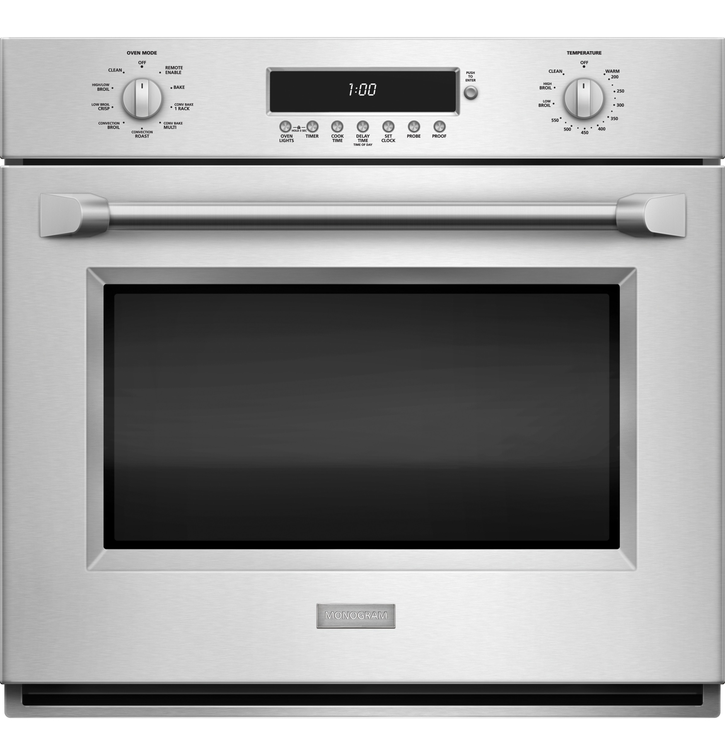 "Monogram Monogram 30"" Professional Electronic Convection Single Wall Oven"