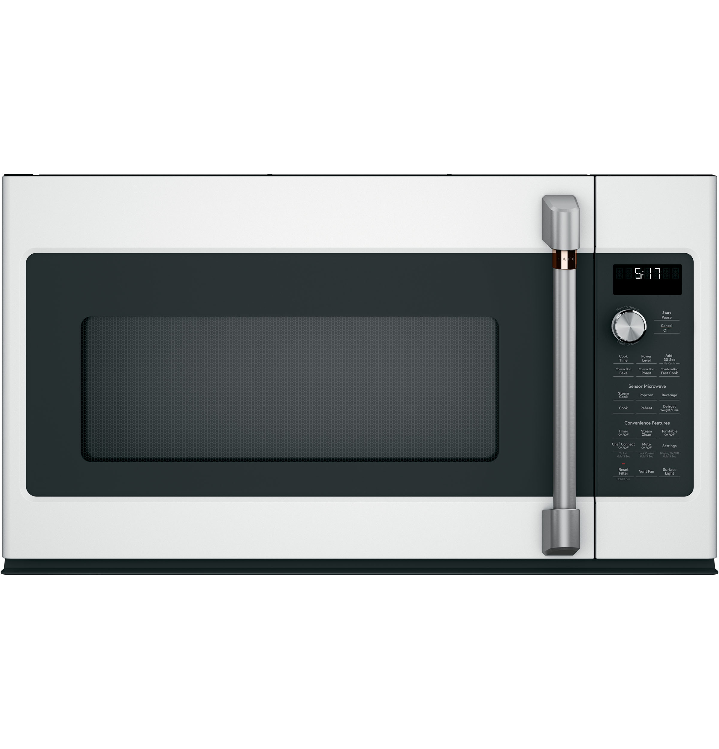 Model: CVM517P4MW2 | Cafe Café™ 1.7 Cu. Ft. Convection Over-the-Range Microwave Oven