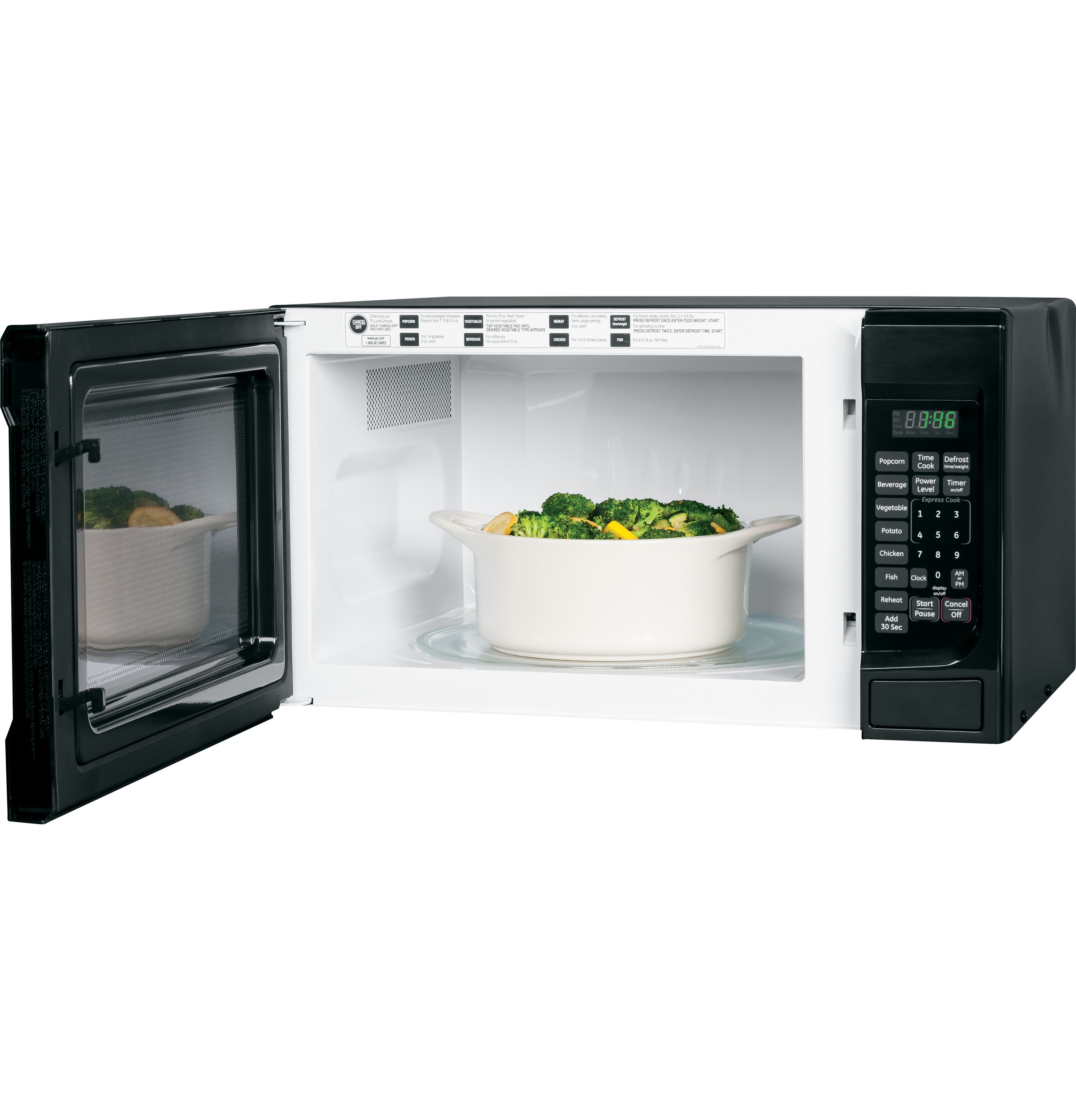 Model: JES1460DSBB | GE GE® 1.4 Cu. Ft. Countertop Microwave Oven